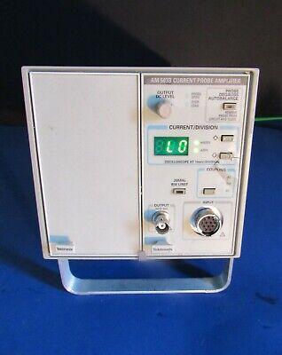 Tektronix Tm502a W Am503b Current Probe Amplifier Am 503b Tray