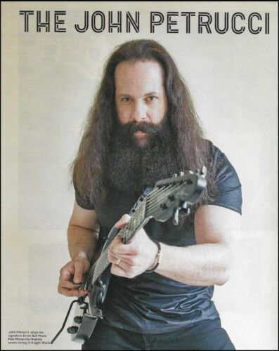John Petrucci Ernie Ball Music Man Monarchy Majesty guitar pin-up photo print