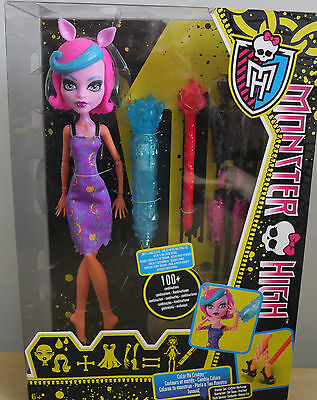 Monster High Werwolf Starterset Color Me Creepy NEU & OVP Mattel ()