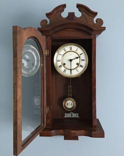 Vintage  EMPEROR Pendulum Wall Clock. Needs TLC