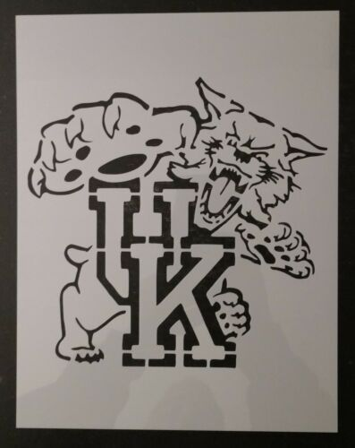 "Wildcats UK University Kentucky 8.5"" x 11"" Custom Stencil FAST FREE SHIPPING"