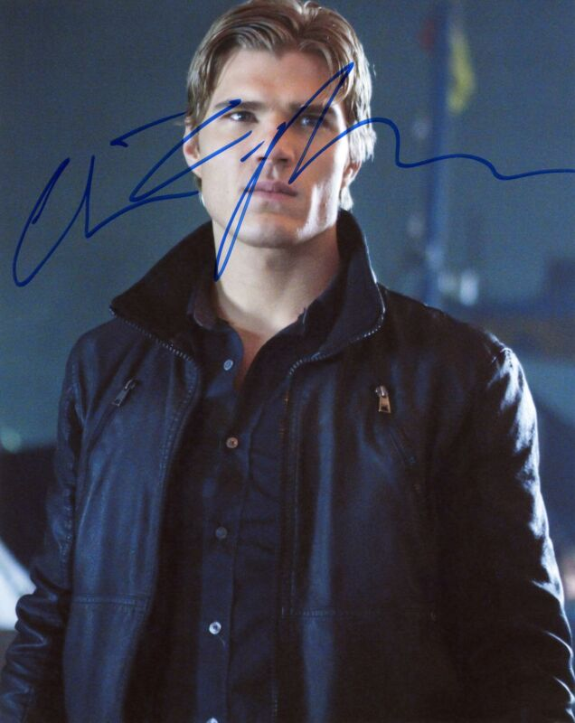 "Chris Zylka ""The Secret Circle"" AUTOGRAPH Signed 8x10 Photo ACOA"