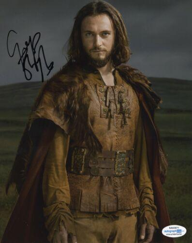 George Blagden Vikings Autographed Signed 8x10 Photo COA