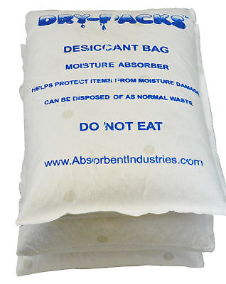 33 LBS Container & Cargo Dry Strip Pack Silica Gel Desiccant Storage Dry-Packs Business & Industrial