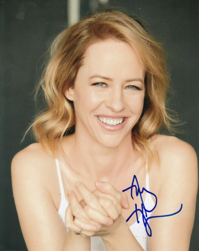 AMY HARGREAVES signed (HOMELAND) TV Show 8X10 photo *Maggie Mathis* W/COA #2