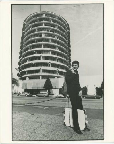 Pete Best Outside Capitol Record in LA 1960