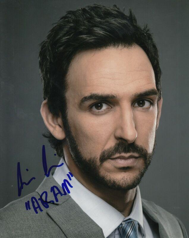 AMIR ARISON signed (THE BLACKLIST) 8X10 photo *Aram Mojtabai* autographed W/COA