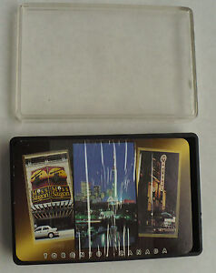 VINTAGE TORONTO CANADA PLAYING CARDS IN PLASTIC CASE NEW SEALED