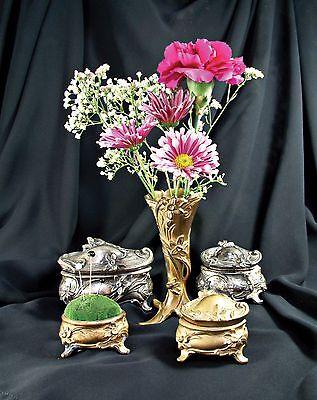 THE JEWEL BOX BOOK  Nouveau Victorian Casket Trinket CATALOG Jewelry Deco Arts