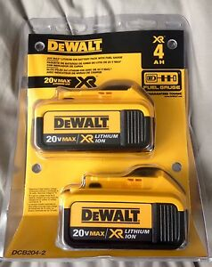 DeWalt 20V Max XR 4.0Ah Double Pack