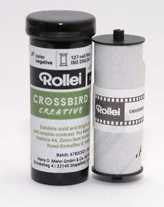 Rollei Crossbird 200asa 127 Roll Film C41/E-6 Slide Film Free Postage