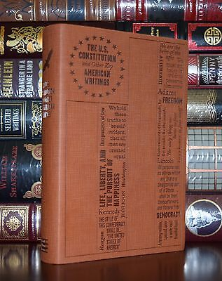 The U S  Constitution American Writings Founding Fathers Soft Leather Feel Ed