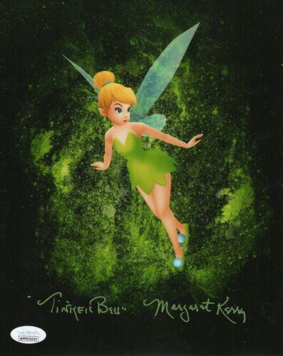 "Margaret Kerry Autograph Signed 8x10 Photo - Peter Pan ""Tinker Bell"" (JSA COA)"