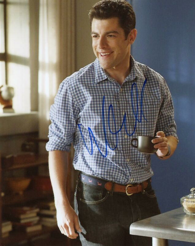 """Max Greenfield """"New Girl"""" AUTOGRAPH Signed 8x10 Photo F"""