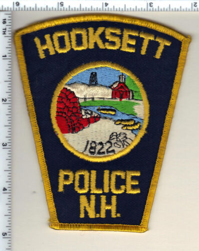 Hooksett Police (New Hampshire)  Shoulder Patch  - new from 1990