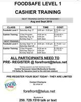 FOODSAFE and Cashier Training