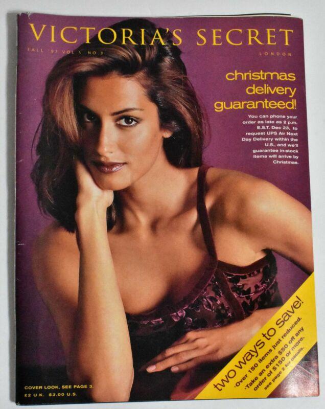 Victoria's Secret Fall 1997 VS Catalog Yasmeen Ghauri