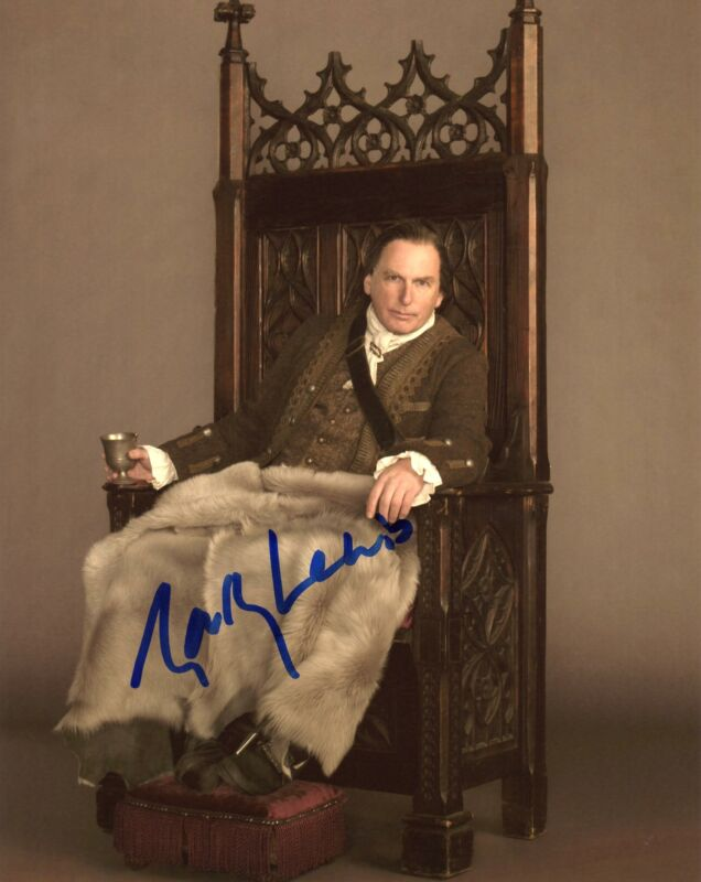 "Gary Lewis ""Outlander"" AUTOGRAPH Signed 'Colum MacKenzie' 8x10 Photo"