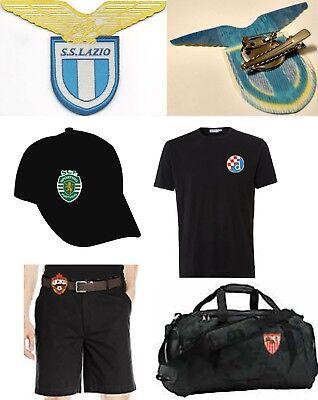 Lazio Soccer Team - Italy Lazio soccer football club team patch clip pin brooch emblem holder