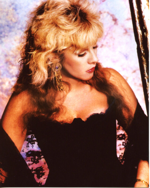 Stevie Nicks Elegant Black Dress  8x10 Photo Print