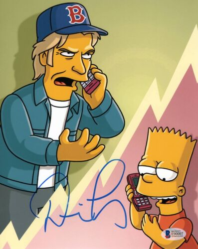 DENIS LEARY THE SIMPSONS SIGNED 8X10 PHOTO AUTHENTIC AUTOGRAPH BECKETT BAS COA 2