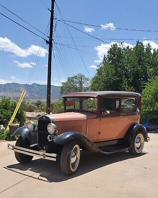 1931 Ford Model A  1931 Ford Model A Brown RWD Manual