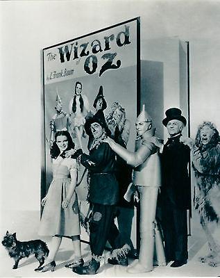 #1 FAN THE WIZARD OF OZ CAST JUDY GARLAND 8 X 10 PHOTO