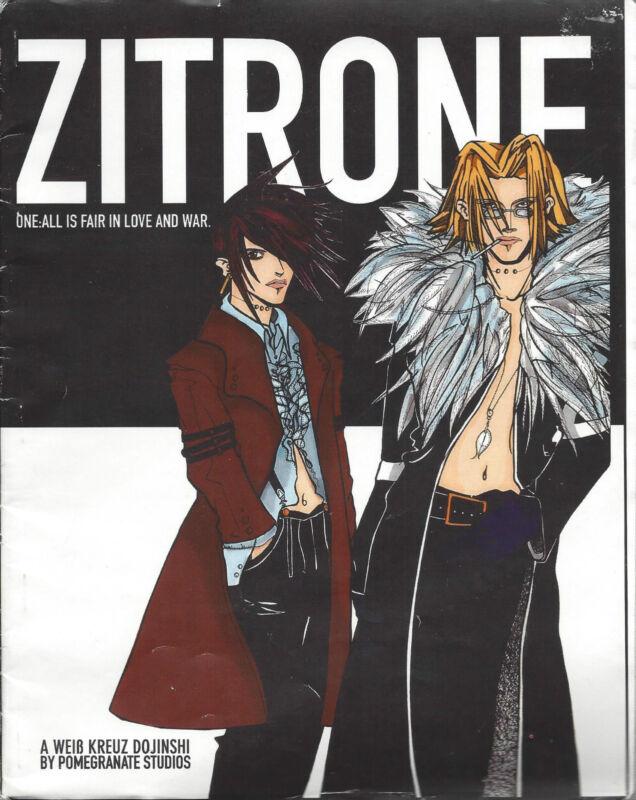 Japanese Anime Yaoi BL Boy Love Magazine Zitrone 1993 Male/Male Adult
