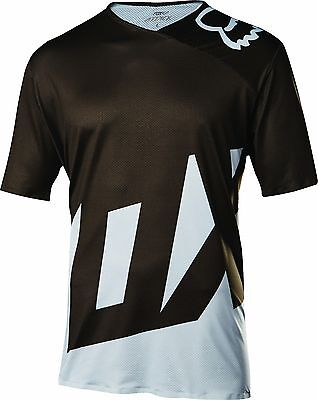 Fox Racing Attack s/s Jersey White Fox Attack Jersey