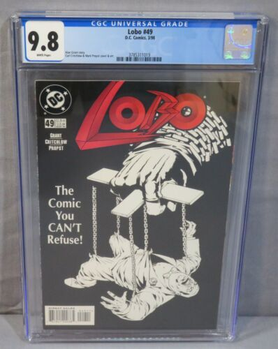 LOBO #49 (Highest Graded on Census) CGC 9.8 NM/MT DC Comics 1998 White Pages