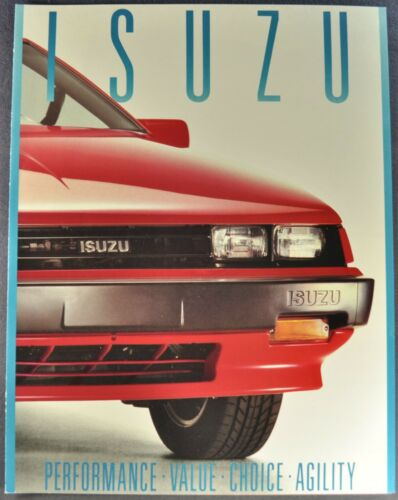 1988 Isuzu Brochure Impulse I-Mark Trooper II P