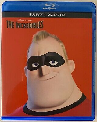 DISNEY PIXAR THE INCREDIBLES BLU RAY 2 DISC FREE WORLD WIDE SHIPPING BUY IT NOW  - Buy The Incredibles