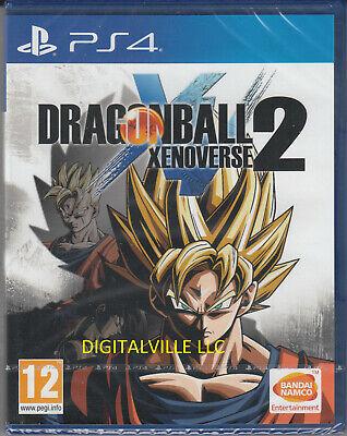 Dragon Ball Xenoverse 2 PS4 PlayStation 4 Brand New Factory Sealed