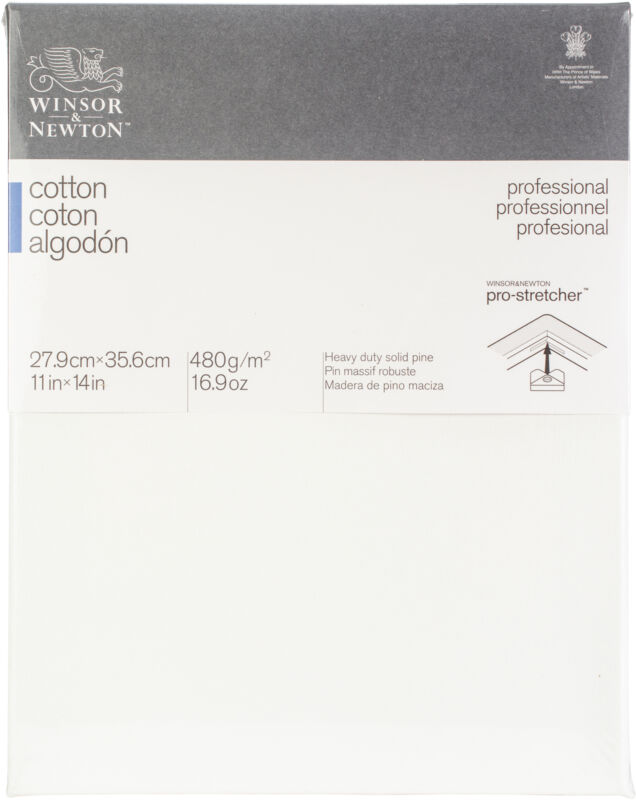 Winsor Newton Professional Stretched Canvas Cotton-11 X 14 inches