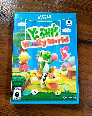 Yoshi's Woolly World - Nintendo Wii U Videogame