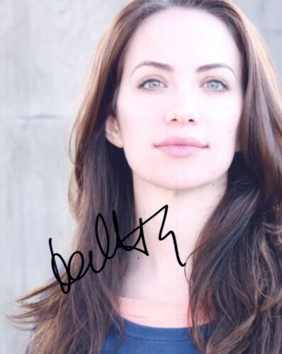 Kate Siegel Signed Autograph 8x10 Photo The Haunting of Hill House Actress COA