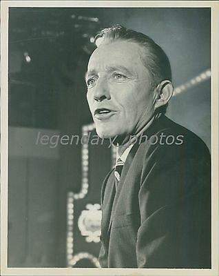 1969 Bing Crosby Hosts The Hollywood Palace Original News Service Photo