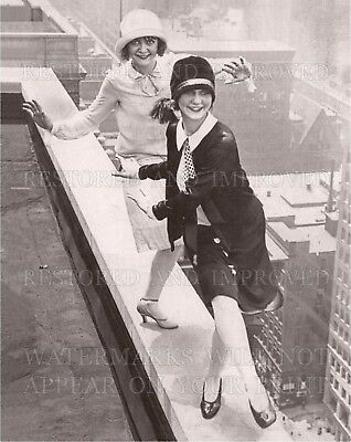 Flapper girls dance on rooftop Roaring 1920s photo CHOICE 5x7 or request 8x10 or