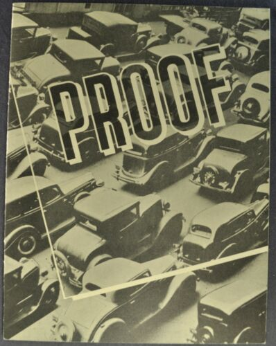 1935 Reo Self Shifter Catalog Sales Brochure Flying Cloud Excellent Original 35