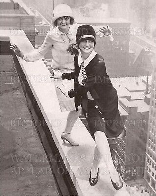 16x20 photo: Flapper girls dance Charleston on Chicago rooftop 1926, Roaring 20s - 20s Flapper Girls