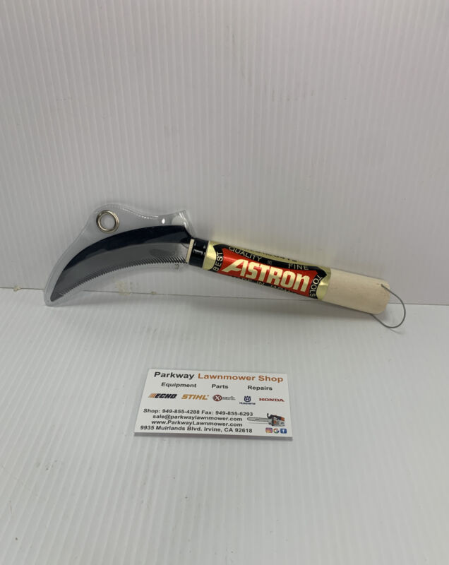 Astron Sod Cutter and Remover Hand Held Sickle Tool  Item# 0412 Made in Japan
