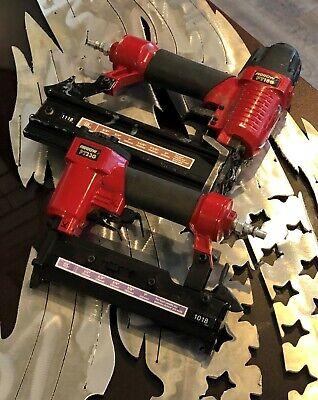 Arrow Fastener Pt18g Pneumatic Brad Nail Gun Pt23g Pneumatic Pin Nailer Set