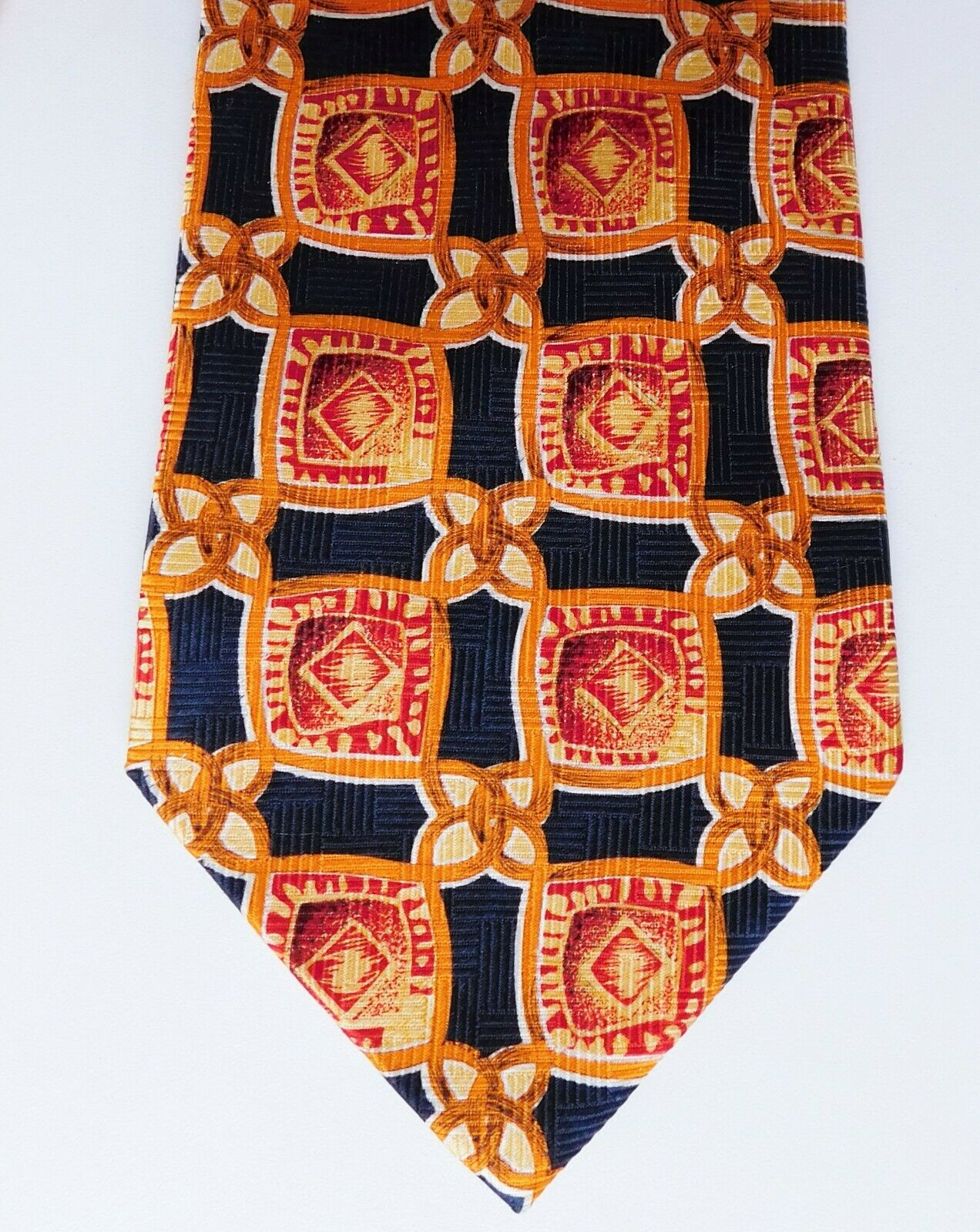 Bernice Family Tie silk bright colours made in England