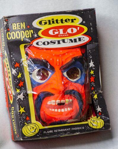 Ben Cooper ~ DEVIL Glitter Glow ~ Halloween Costume 1960