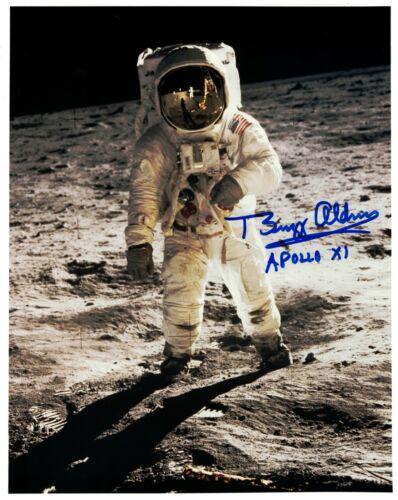 Buzz Aldrin Apollo 11 Lunar Surface Signed Photo