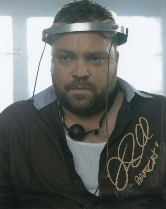 DREW POWELL signed *GOTHAM* BUTCH TV SHOW 8X10 photograph BATMAN W/COA #2