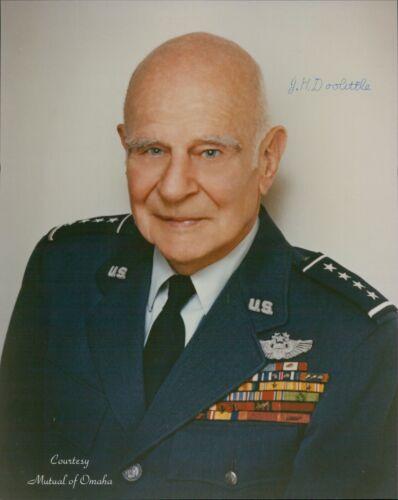 General Jimmy Doolittle Doolittle Raiders Signed 8x10 Photo JSA Authenticated
