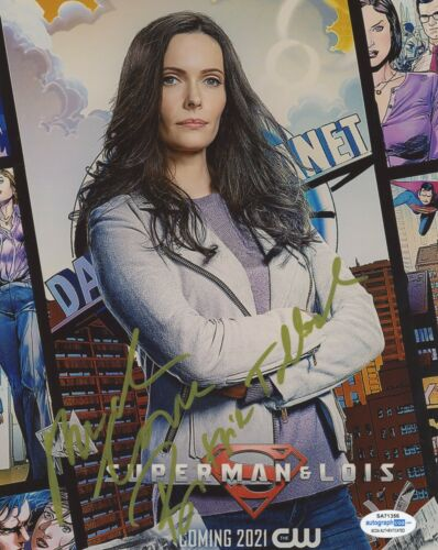 Bitsie Tulloch Superman and Lois Autographed Signed 8x10 Photo COA  ACOA