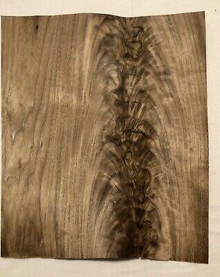 Walnut Burl Wood Veneer 1 Sheet 15 X 12.5 1 Sq Ft