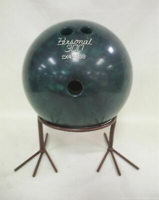 Ebonite Personal 300 Bowling Ball Green Swirl 12 LB AL  - $24.77